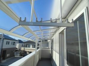 バルコニー屋根専用物干し金具